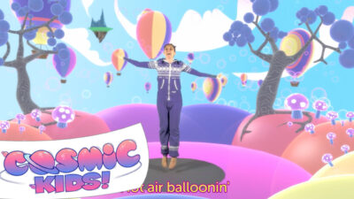 Hot Air Balloonin'! | Yoga Disco