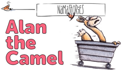 Alan the Camel | Namastories | Rhyming and literacy