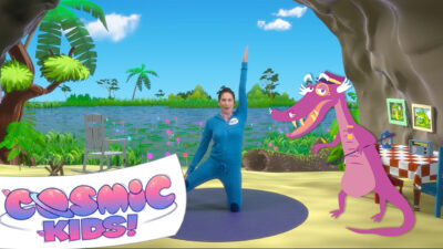Colonel Crockles the Crocodile | A Cosmic Kids Yoga Adventure!