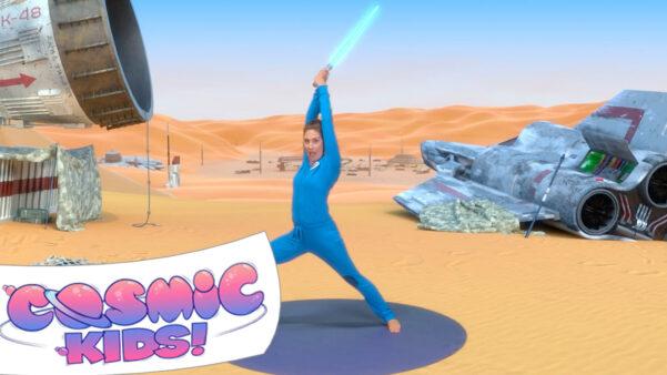 The Force Awakens   A Cosmic Kids Yoga Adventure