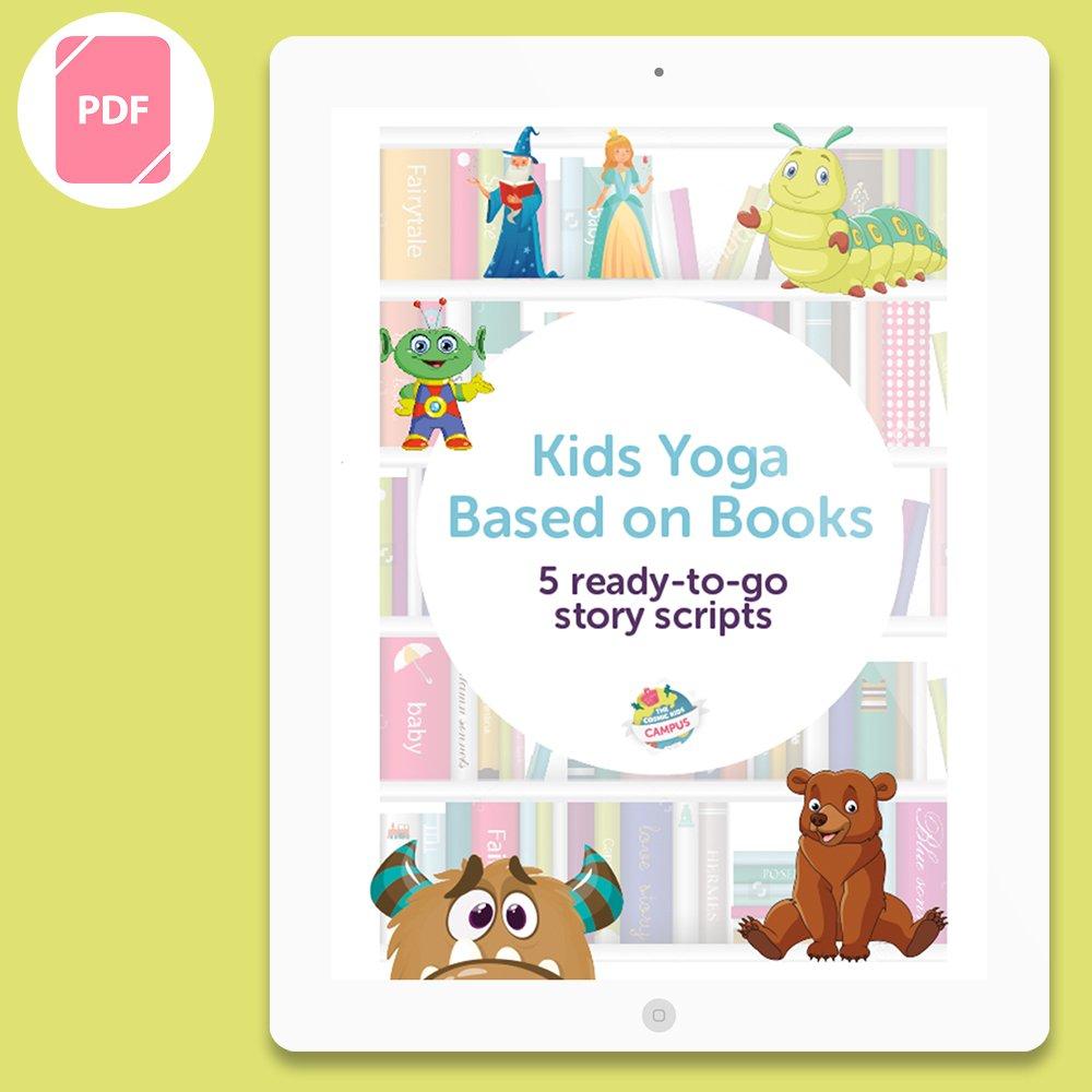 Children S Book Bundle 5 Ready To Go Kids Yoga Scriptscosmic Kids Yoga