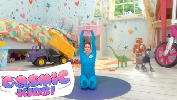Diggory the Dumptruck   A Cosmic Kids Yoga Adventure!
