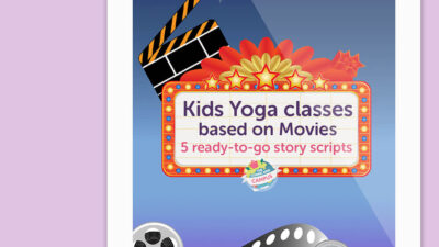 Kids Yoga Class Scripts based on Movies (5 script bundle)
