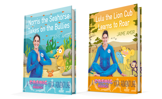 Jaime introduces our NEW Cosmic Kids yoga books!