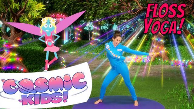 Fairy Floss | A Cosmic Kids Yoga Adventure!