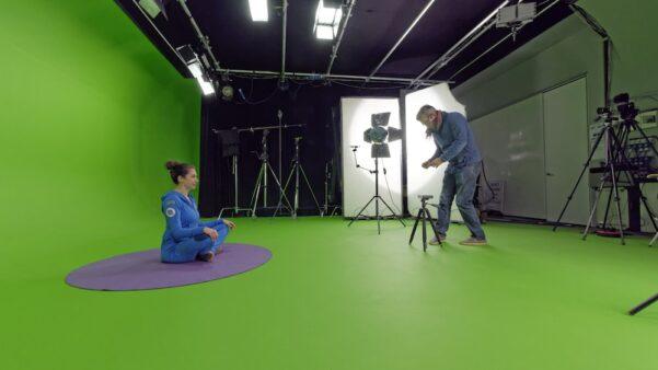 Behind the scenes at Cosmic Kids!