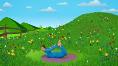 Peter Cottontail and the Tickly Monkeys | A Cosmic Kids Yoga Adventure!