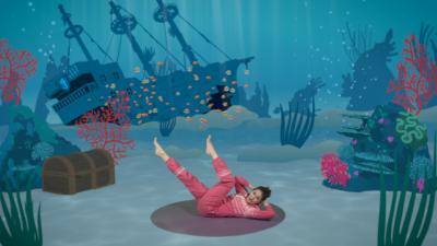 Popcorn the Dolphin 🐬   A Cosmic Kids Yoga Adventure!