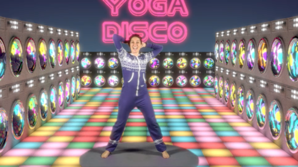 Welcome to the Yoga Disco!