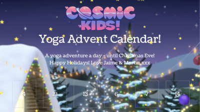 The Cosmic Kids Advent Calendar!