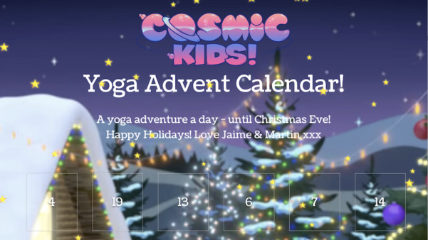 The Cosmic Kids Advent Calendar!