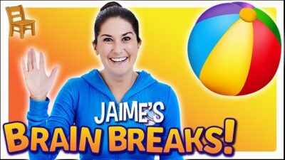 Jaime's Brain Breaks | Sit and Stretch!