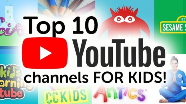 Top 10 YouTube Channels for Kids!