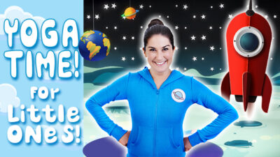 Yoga Time! | Space Picnic (for little ones!)
