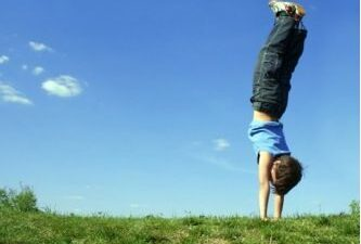Inversions in Yoga - Kids Yoga Goes Upside Down Too!