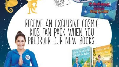 Cosmic Kids Books </br>pre-order offer!