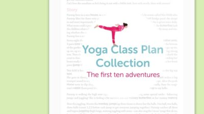 Kids Yoga Class Plan Collection Vol. 1