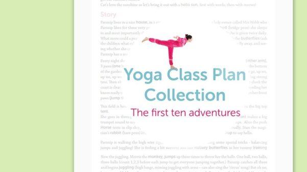 Kids Yoga Class Plan Collection Vol. 1