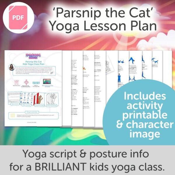 Kids Yoga Class Plan from Cosmic Kids Yoga