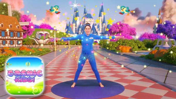 Cinderella   A Cosmic Kids Yoga Adventure!
