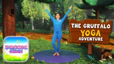 The Gruffalo | A Cosmic Kids Yoga Adventure!