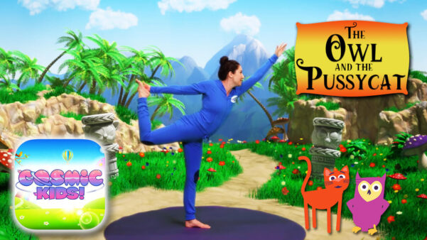 The Owl and the Pussycat   A Cosmic Kids Yoga Adventure