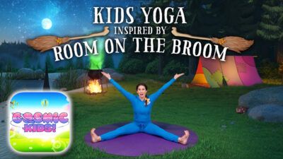 Room on the Broom | A Cosmic Kids Yoga Adventure!