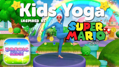 Super Mario | A Cosmic Kids Yoga Adventure 🍄