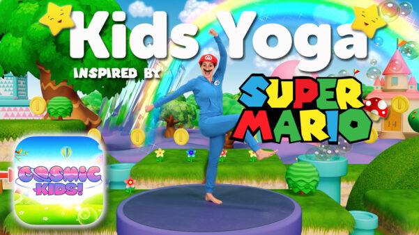 Super Mario   A Cosmic Kids Yoga Adventure 🍄