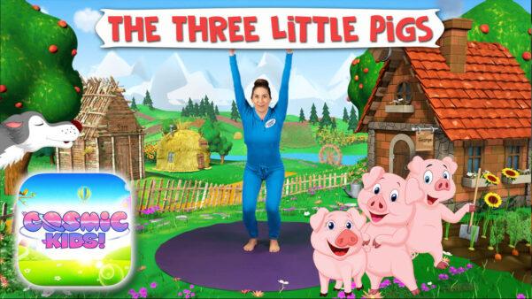 The 3 Little Pigs   A Cosmic Kids Yoga Adventure!
