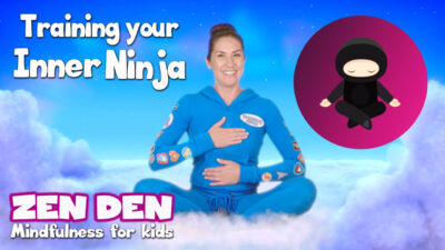 Training Your Inner Ninja! | Zen Den | Mindfulness for Kids