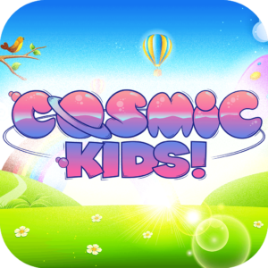 Visit the Cosmic Kids app!