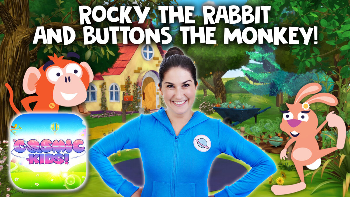 Rocky the Rabbit | A Cosmic Kids Yoga Adventure!