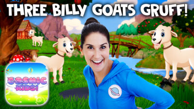 The Three Billy Goats Gruff | A Cosmic Kids Yoga Adventure!