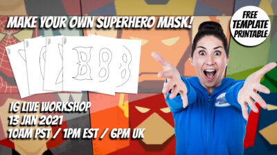 Make your own Superhero Mask!