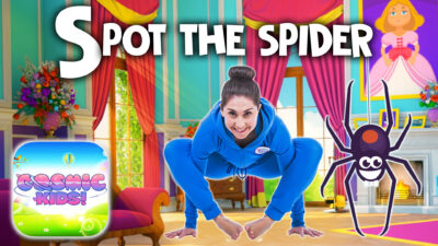 Spot the Spider | A Cosmic Kids Yoga Adventure (app preview)