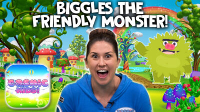 Biggles The Monster   A Cosmic Kids Yoga Adventure!