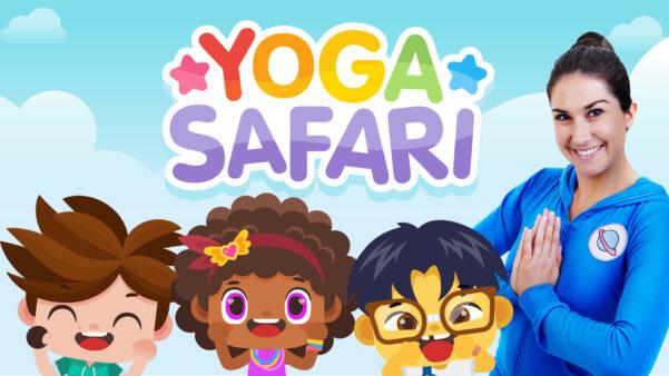 New Cosmic Kids series - Yoga Safari!